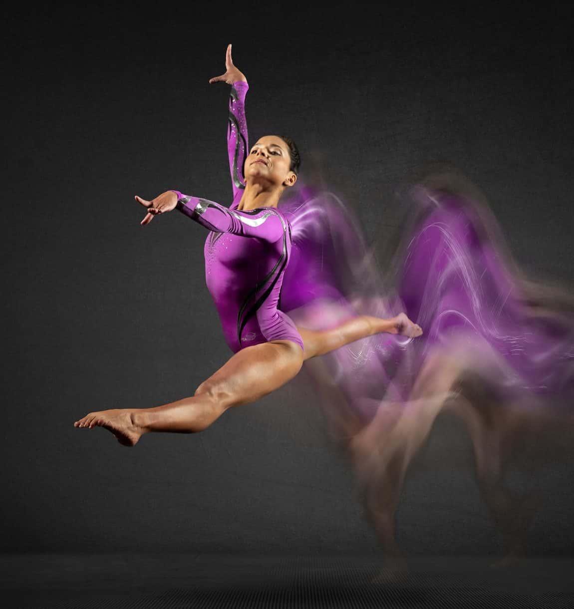 gymnast-purple-leotard-movement